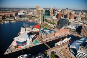 Baltimore Aerial Skyline