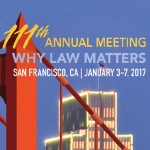2017 Annual Meeting info with red Golden Gate Bridge in background