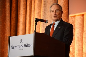 Michael Bloomberg welcomes AALS attendees to New York.
