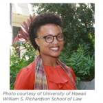 Shalanda Baker, University of Hawaii William S. Richardson School of Law (Chair)- Photo courtesy of University of Hawaii William S. Richardson School of Law