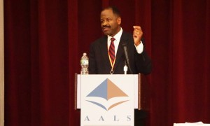 2015 AALS President Blake D. Morant at the 2016 AALS Annual Meeting