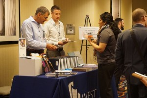 West Academic exhibitor booth at NLT 2016