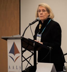 Judy Areen, AALS Executive Director, at the 2017 AALS Annual Meeting