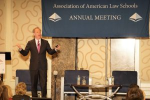 Microsoft President and CLO Brad Smith at the 2017 AALS Annual Meeting