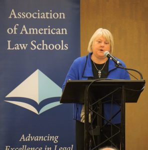 2016 AALS President Kellye Y. Testy, Dean of University of Washington School of Law, at the 2017 AALS Annual Meeting