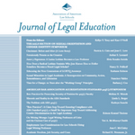 Journal of Legal Education - Spring 2017