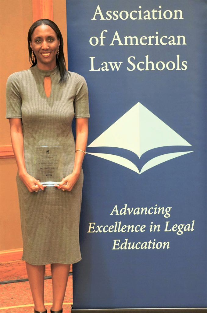 Chi Adanna Mgbako honored with the 2017 Shanara Gilbert Award from the AALS Section on Clinical Legal Education.