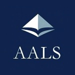 AALS logo with blue background