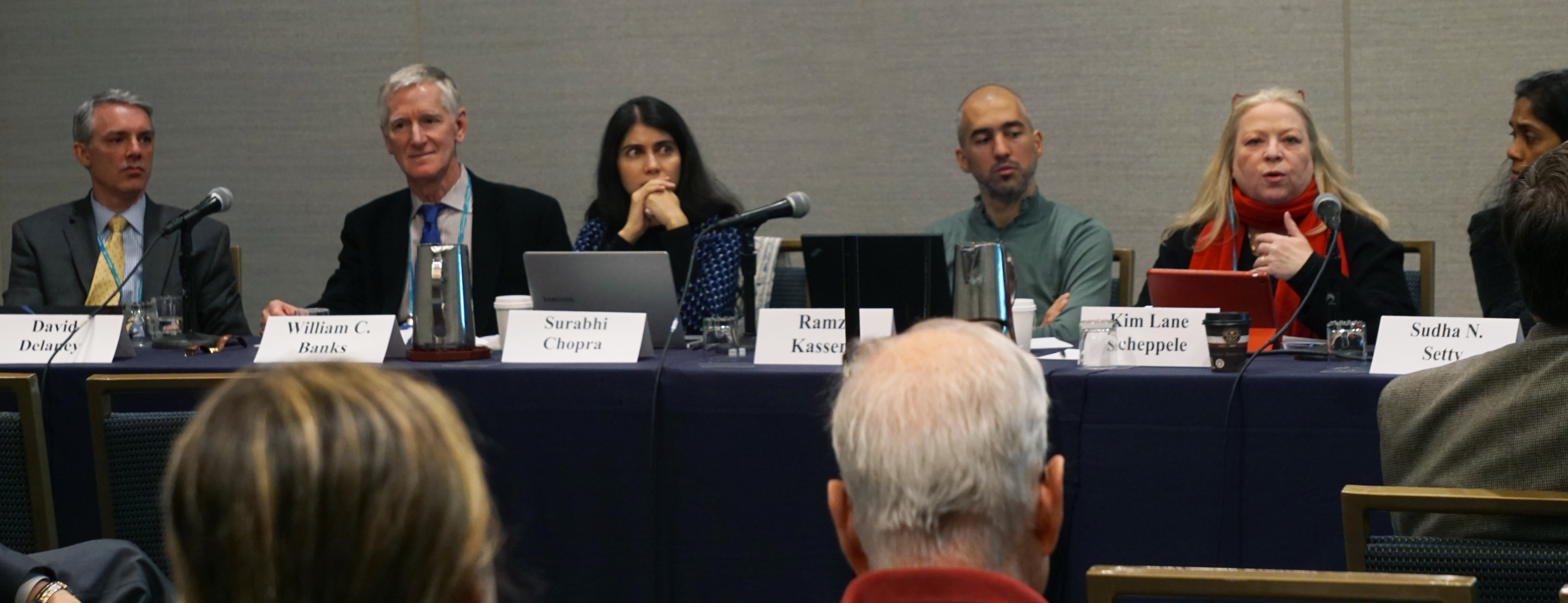 National Security Law panel at the 2017 AALS Annual Meeting