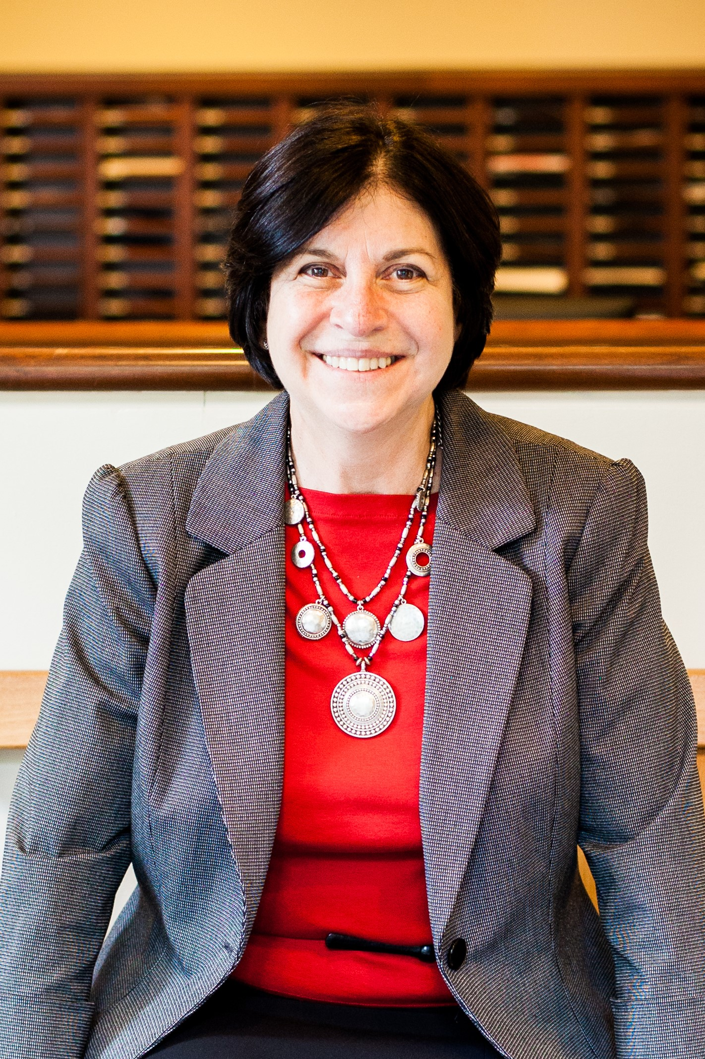Susan L. Krinsky, Associate Dean for Student Affairs and Communications at the University of Maryland and immediate-past Chair of the Board of Trustees of the Law School Admission Council.
