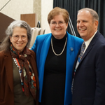 AALS Presidents, 2016-2019: Vicki Jackson, Harvard Law (2019); Wendy Perdue, Dean, Richmond Law (2018); and Paul Marcus, William & Mary Law (2017)