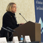 AALS Executive Director Judy Areen at the 2018 AALS Annual Meeting
