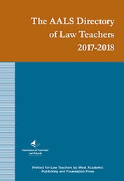 Cover of the Directory of Law Teachers