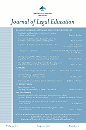 Cover of Journal of Legal Education