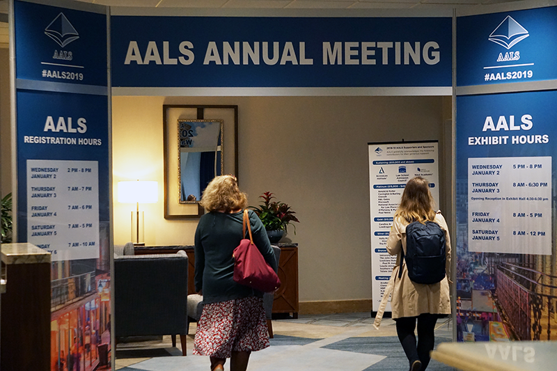 2019 Annual meeting exhibit hall