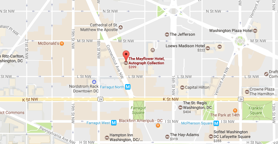 Map of NLT Hotel Location