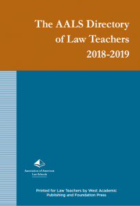 Directory of Law Teachers cover