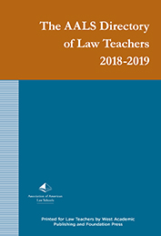 Cover of the 2017-2018 AALS DLT