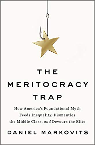 Book Cover-The Meritocracy Trap