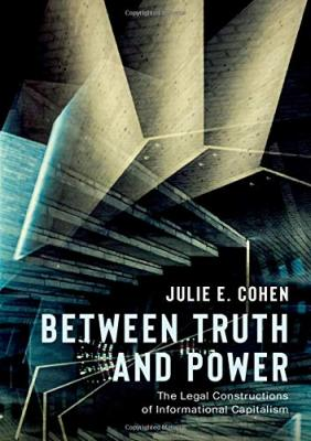 Book Cover-Between Truth and Power