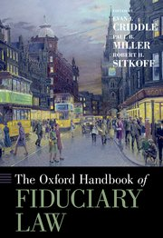 Book Cover-Oxford Handbook of Fiduciary Law