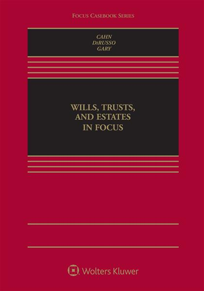Book Cover-Wills Trust and Estates in Focus