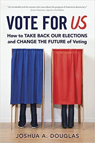 Book Cover-Vote for US: How to Take Back Our Elections and Change the Future of Voting