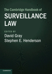 Book Cover-The Cambridge Handbook of Surveillance Law