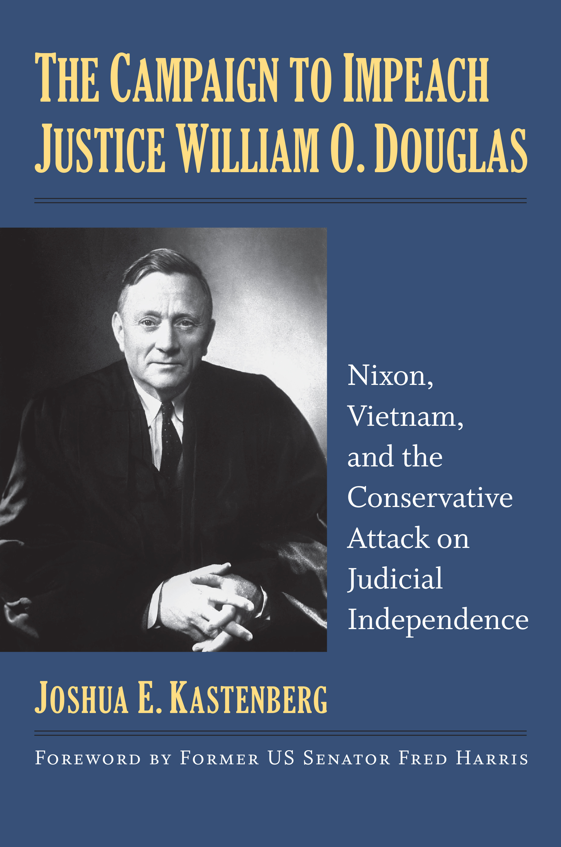 Book Cover-The Campaign to Impeach Justice William O. Douglas