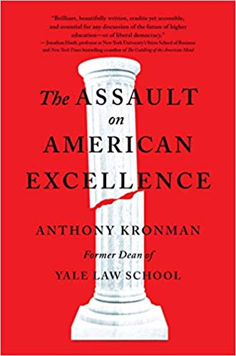 Book Cover-The Assault on American Excellence