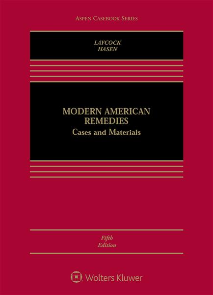 Book Cover-Modern American Remedies: Case & Materials, Fifth Edition