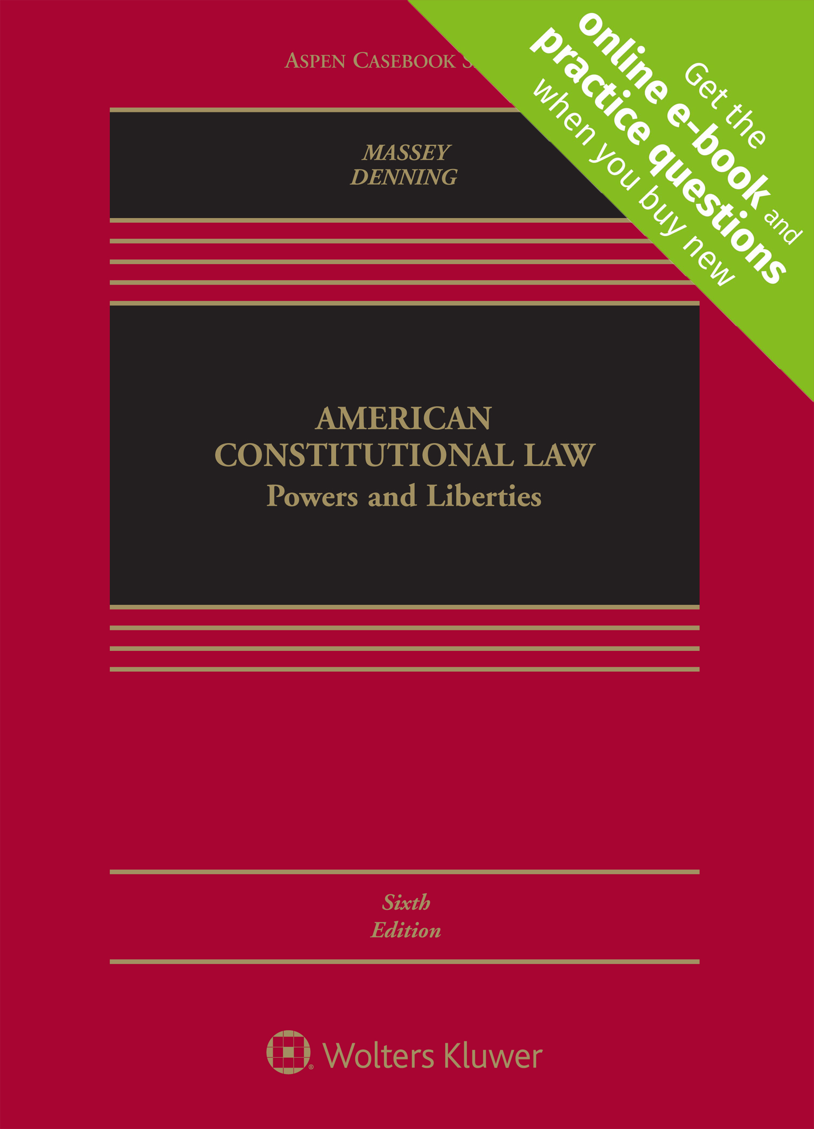 Book Cover-American Constitutional Law