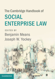 Book Cover-The Cambridge Handbook of Social Enterprise Law