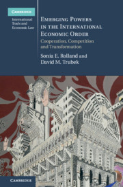 Book Cover - Emerging Powers in the International Economic Order