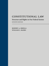 Book Cover-Constitutional Law: Structure and Rights in our Federal System