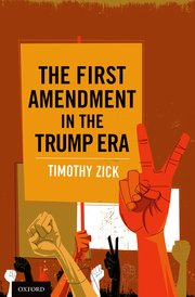 Book Cover-The First Amendment in the Trump Era