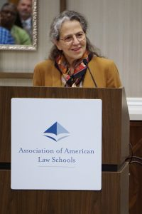 Vicki C. Jackson, AALS President and Thurgood Marshall Professor of Constitutional Law, Harvard Law School