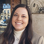 Portrait of Katherine London, Special Projects Administrator, Office of the Executive Director