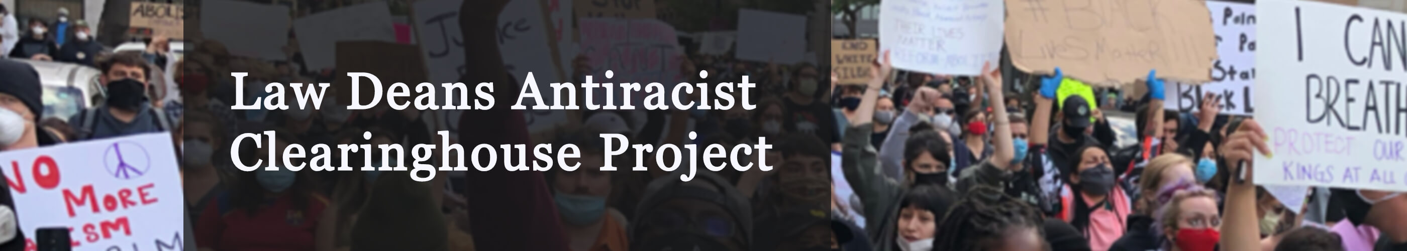 law deans antiracist clearinghouse project