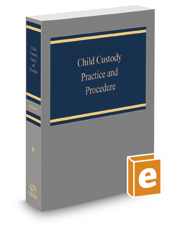 Book Cover-Child Custody Practice and Procedure