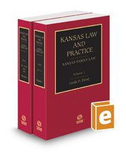 Book Cover-Kansas Family Law