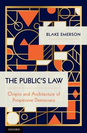 Book Cover-The Public's Law