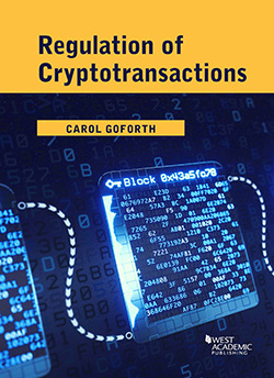 Book Cover-Regulation of Cryptotransactions