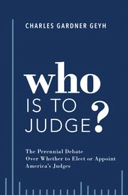 Book Cover-Who is to Judge?
