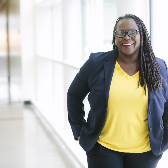 7/26/18 - Grinnell, Iowa  Portraits of new Boston University School of Law Dean Dr. Angela Onwuachi-Willig.  Photo by Kathyrn Gamble for Boston University Photography
